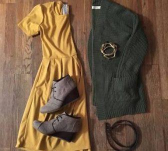 Hardal Sarısı Tesettürde Hangi Renk İle Kombinlenir?