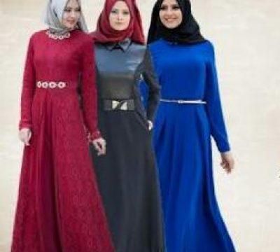 2017 – 2018 Tesettür Abiye Elbise Modası