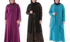 Büyük Beden Anne Elbisesi Tesettür Giyim