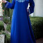 mavi anne elbisesi