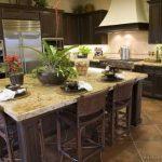 Mutfak ceviz rengi mutfak dekorasyonu