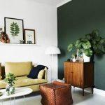 haki yeşili duvar boyası