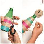 ip ile soda şişesi kaplama