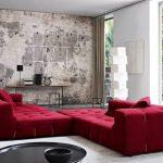 kırmızı köşe koltuk modeli