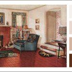 kiremit rengi oda dekorasyonu