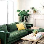 koyu yeşil koltuk takımı