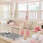 krem pudra mutfak dekorasyonu
