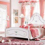 pudra rengi yatak odası modeli
