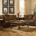 Krem perde sütlü kahverengi koltuk takımı