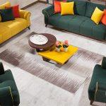 sarı yeşil koltuk takımı