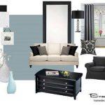 siyah beyaz mobilyalara ne renk duvar boyası