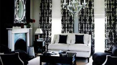 Siyah Beyaz Mobilyaya Uygun Koltuk Takımı Renkleri