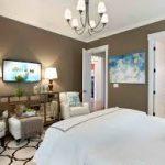 Country yatak odası modeli