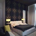 yatak odası modelleri siyah yatak odasi