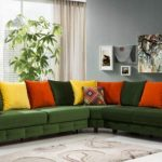 yeşil koltuğa hangi renk perde
