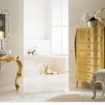 altın rengi dekorasyonu