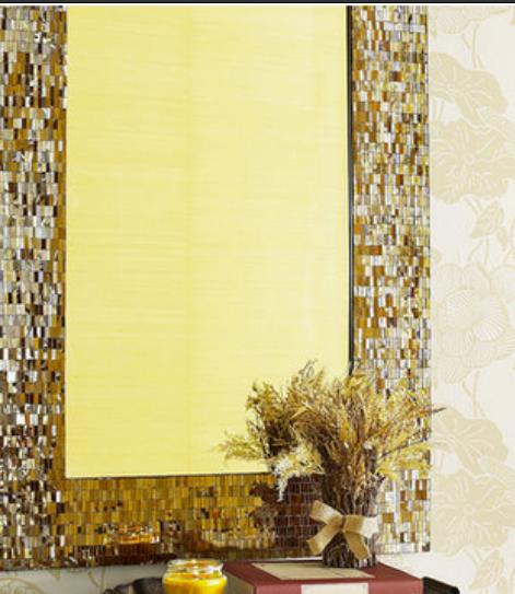 altın rengi dekoratif ayna