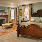 altın rengi yatak odası dekorasyonu