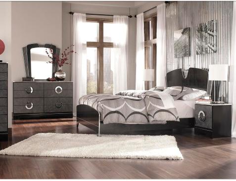 füme rengi yatak odası