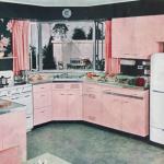pudra rengi mutfak modelleri