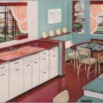 pudra rengi mutfak perdesi