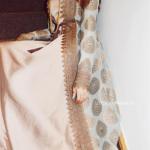 saten vizon rengi elbise modelleri