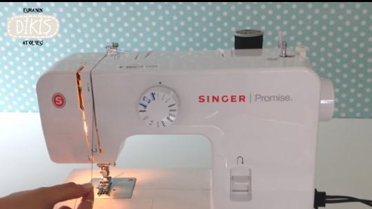 singer promise dikiş makinası iplik takma