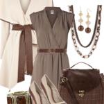 Vizon rengi kıyafet kombinleri