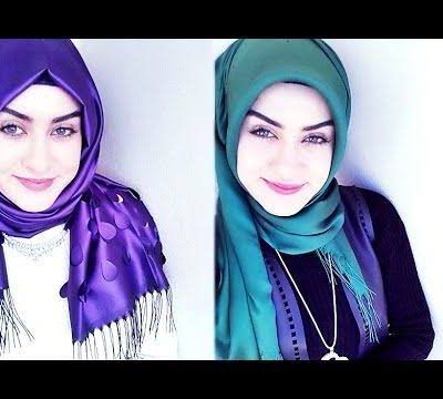 Modern Hijab Scarf Style Fashion For Muslim Women's