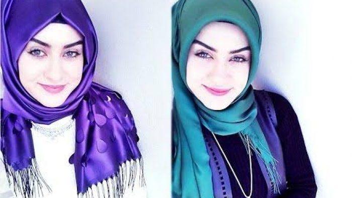 Modern Hijab Scarf Style Fashion For Muslim Women's