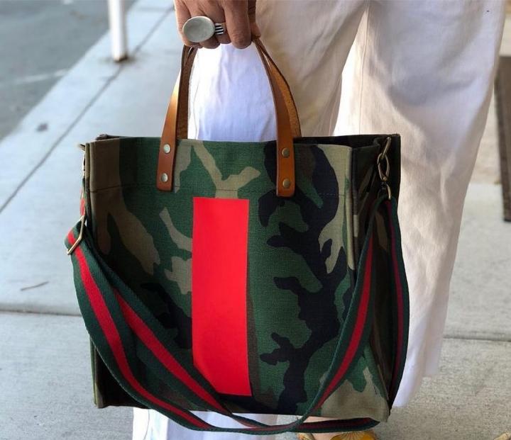 Askeri desenli çanta modelleri